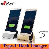 Effelon USB 3.1 Tip-C Cradle Şarj ve Şarj Kablosu Dock google nexus için lenovo zuk z1 için oneplus two için 6 P/5X
