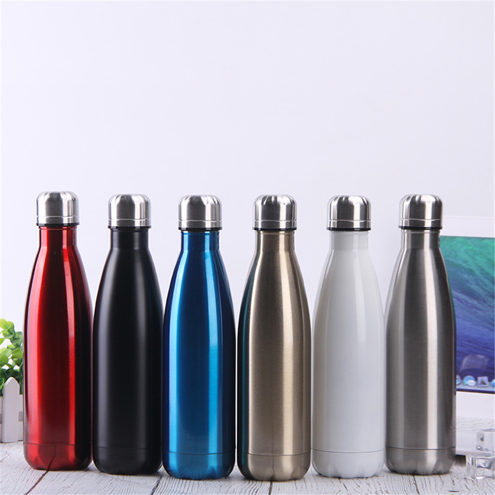 Tea Water Coffee Flask Vacuum Thermos Cup Bicycle Travel Bottle Insulated Mug