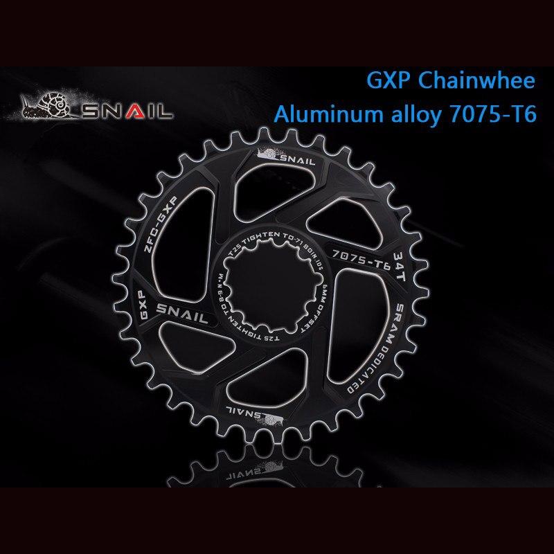 Nova Cadeia de Bicicleta Anel 32 T/34 T/36 T Estreito Largo Estreito 7075-T6 Chainwheel Ciclo MTB Bicicleta círculo Placa Pedaleira