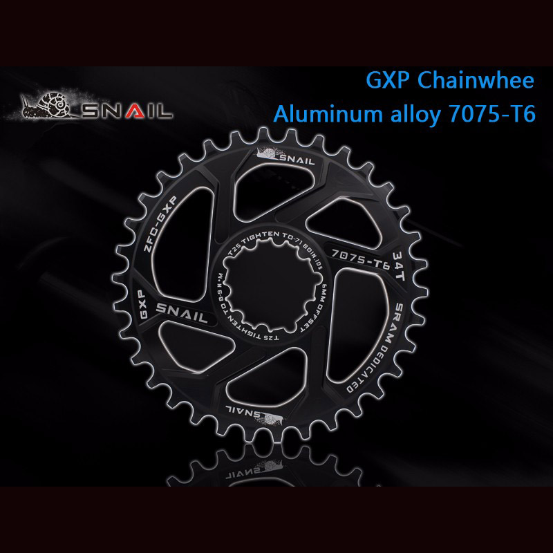 New Bicycle Chain Ring 32T/34T/36T Narrow Wide Narrow Cycle Chainwheel 7075-T6 MTB Bike Circle Crankset Plate motsuv bicycle crank 104bcd oval 32t 34t 36t 38t chainring narrow wide ultralight mtb bike chainwheel circle crankset plate