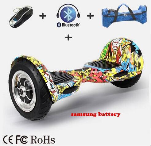 free ship ul Hover board 10 inch 2 wheel electric scooter Smart Balance Board 10inch Skateboard