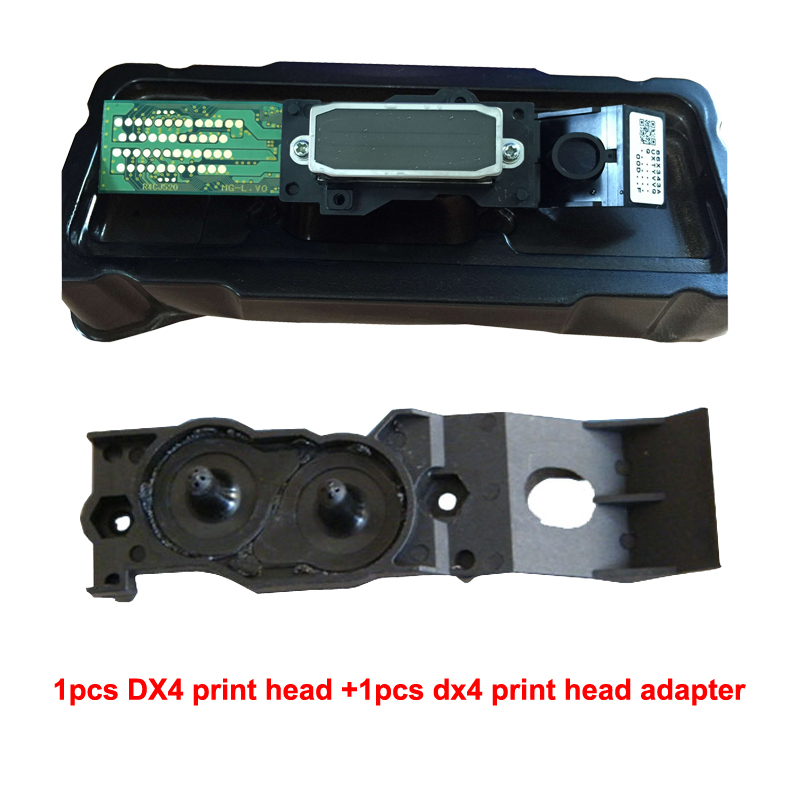 Original DX4 Printhead ECO Solvent New Dx4 Print Head for Epson Roland vp 540 for MIMAKI JV2 JV4 VP540 VP300 RS540 printer 100% original roland dx4 eco solvent print head two adaptor bonus for epson dx4 printer head for mimaki jv2 jv4 jv3 printer