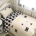 22 estilos boy bedding set baby bedding set 3 unids/set algodón cuna bedding set para niños recién nacidos para 120*60 cm 130*70 cm cama