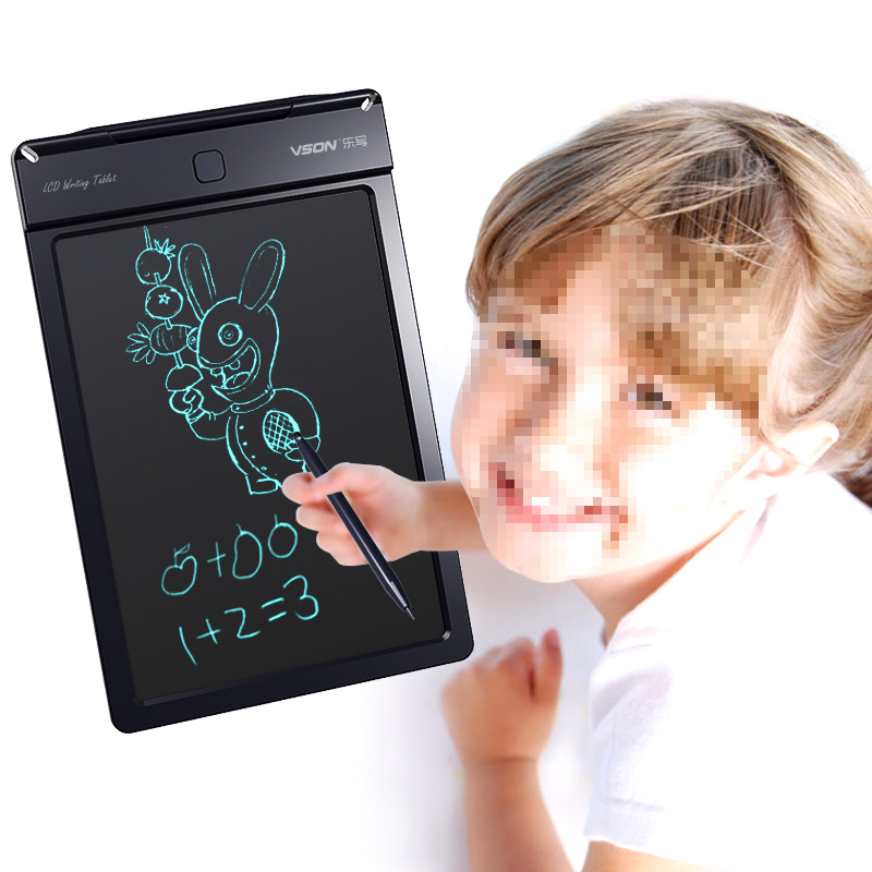 Montessori Reusable 9 inch Office Electronic LCD Tablet LCD Children's Drawing Magic book Electronic Drawing Board Toys