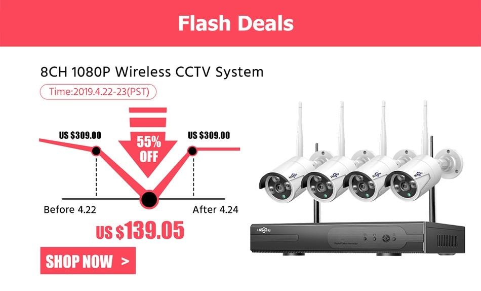 Hiseeu Wireless CCTV System