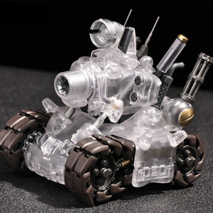 Image 3 - YH Metal Slug Super Voertuig SV 001 tank model beweegbare innerlijke structuur Blauw of Grijs