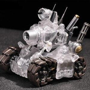 Image 3 - YH Metal Slug Super pojazd SV 001 model zbiornika ruchoma struktura wewnętrzna niebieski lub szary