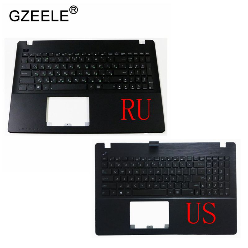 GZEELE NEW Laptop US RU Keyboard Cover Palmrest for ASUS X552 X552C X552MJ X552E X552EA X552EP