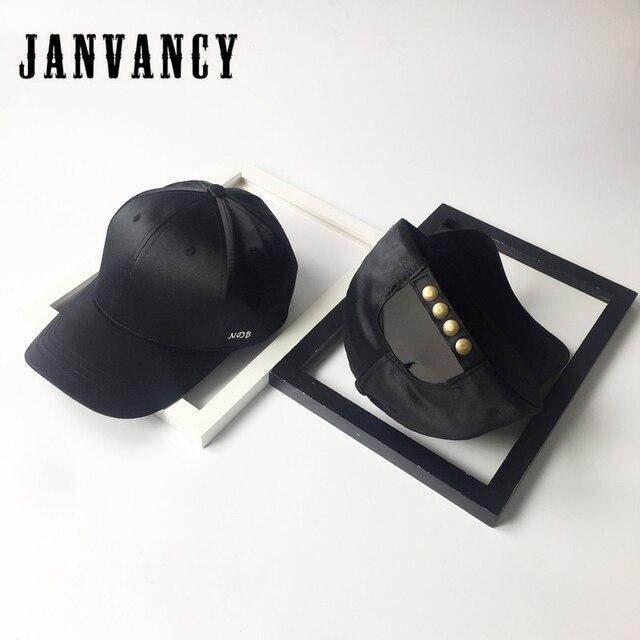 a32bcb20ffd18 Janvancy Baseball Caps Men Women Embroidered Satin Snapback Hats Female Man  Steampunk Hip Hop Cap Male Fashion Style