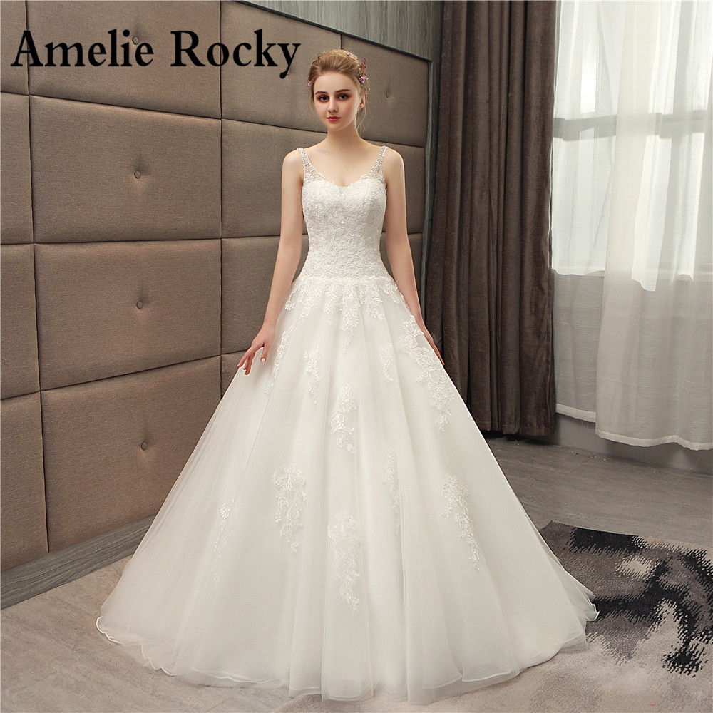 Cheap Wedding Dresses Colorado Springs: Aliexpress.com : Buy Vestidos De Noiva 2018 Beaded V Neck