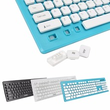 2.4Ghz Wireless slim Keyboard Mouse Suit Gaming keyboard Fashion chocolate keycap Ergonomic combos for laptop pc computer