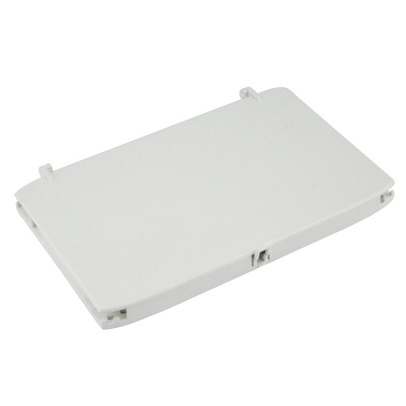 10pcs 12 cores Fiber Optic Splice Tray with ABS Material Fiber Optic Disc FTTH