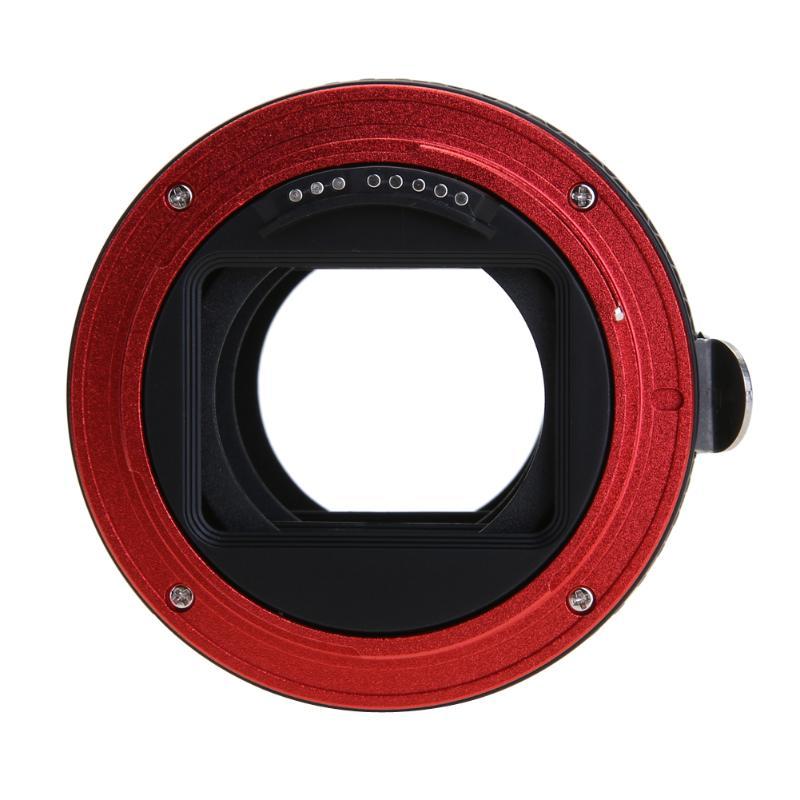 Pro CANON adaptér objektivu pro fotoaparát Canon EOS EF-S 60D 7D 5D - Videokamery a fotoaparáty - Fotografie 6
