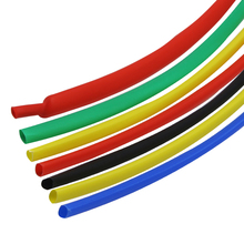 7 Color 1mm/1.5mm/2mm/2.5mm/3mm/3.5mm/4mm Electronic Heat Shrink Tubing 2:1 Shrinkable Tube 5M