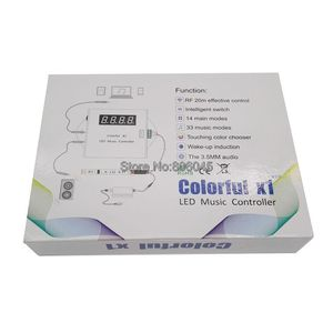 Image 5 - Controlador remoto de música LED X1 DC5 24V, Control táctil inalámbrico por RF, atenuador para tira LED, sueño mágico a todo Color
