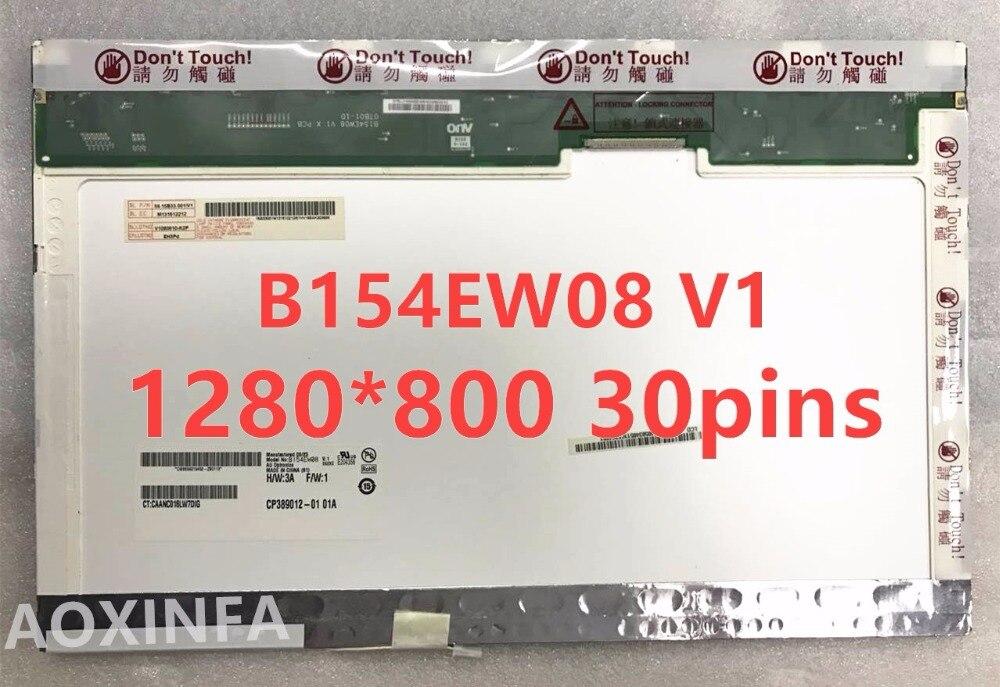 15 4 Laptop Lcd Screen LTN154AT07 N154I2 L02 LTN154AT01 LTN154AT10 LP154WX3 LP154WX4 LP154WX5 B154EW08 B154EW02 1280