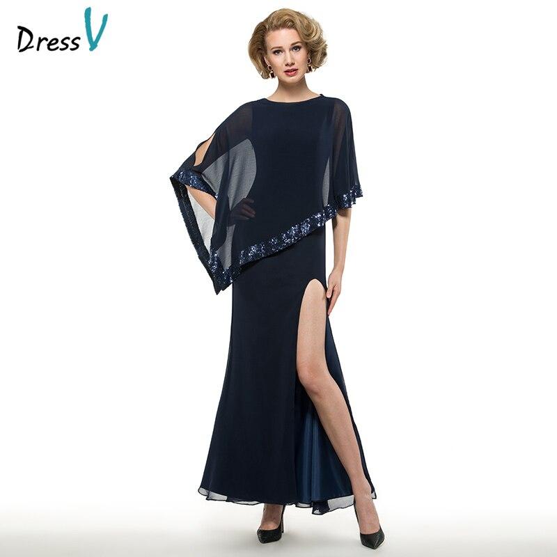 Dressv Scoop Neck Sheath Sleeveless Mother Of Bride Dress With Jacket Floor Length Zipper Up Long Mother Evening Gown Custom