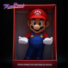 Super Mario Bros Mobile Phone Holder Home Decoration Display Srand Children Birthday Gift 32cm PVC Large Photo Frame Rack