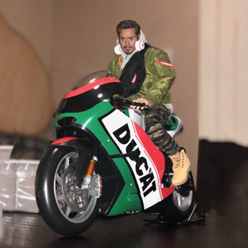 1:6 Scale KTM Motorcycle Motorbike Diecast GP Race Bikes Street Motorbike Toys Gift For Action Figure Scene Construction Display