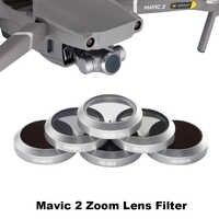Drone Objektiv Filter Gimbal Kamera FÜR DJI Mavic 2 ZooM UV CPL ND4 ND8 ND16 ND32 Glas Neutral Dichte Polarisierende licht Filter