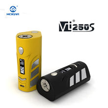 Original HCigar VT250S Box mod 1-167W or 250W electronic cigarette 2-3 Batteries Features back cover EVOLV DNA250 Chipset(China)