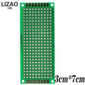 Универсальная печатная плата для Arduino, 9x15 8x12 7x9 6x8 5x7 4x6 3x7 2x8 см двухсторонний прототип Diy