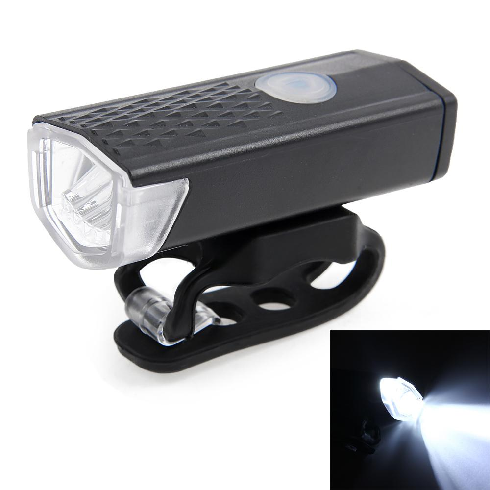 300LM Cycling Bicycle CREE LED Lamp USB Rechargeable Bike Riding Front Light