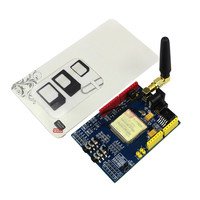 Smart Electronics SIM900 GPRS GSM Shield Development Board Quad Band Module For Arduino Diy Kit