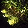 30 СВЕТОДИОДНЫХ Солнечной энергии светодиодные украшения Сада свет белый/желтый/зеленый светодиодный прожектор дорога пейзаж лампа праздник наружного освещения