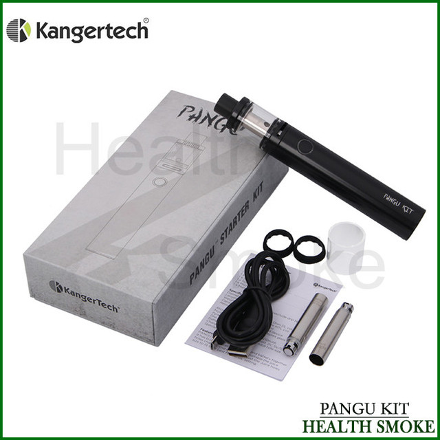 Pangu All-in-One Starter Kit Original Kanger 3.5 ml Pangu Tanque Atomizador e 2500 mah Bateria Interna capacidade Kangertech E Cig