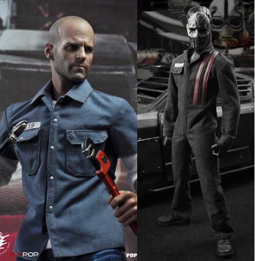 1:6 scale Super flexible male figure Death Race Frankenstein Jason Statham 12 action figure doll Collectible Model plastic toy did1 6 scale doll jean reno french soldiers special edition super flexible figure model toy wwi soldier finished product