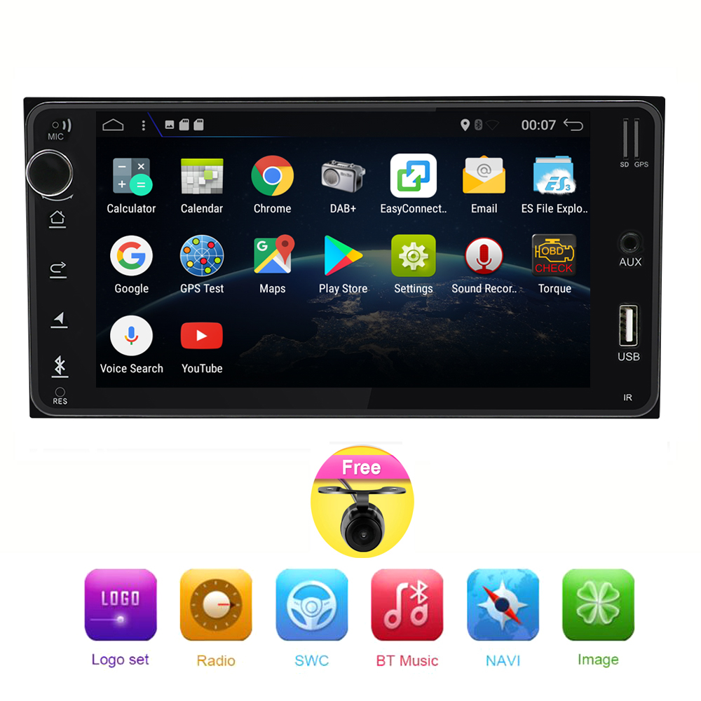Quad Core 4 Core Android 7.1 Car DVD for Toyota CELICA for Toyota MR2 for Toyota 4RUNNER Car Radio StereoQuad Core 4 Core Android 7.1 Car DVD for Toyota CELICA for Toyota MR2 for Toyota 4RUNNER Car Radio Stereo
