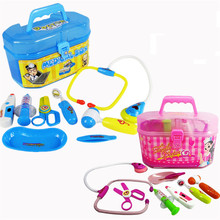 New Arrival Doctor Toys Child Medical Kit Children Play House Toys Simulation Medicine doutora brinquedos for kids