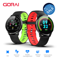 Goral S16 Smart Watch 1.3inch OLED Color Screen Smartwatch women Fashion Fitness Tracker Heart Rate monitor Q8 Smartband