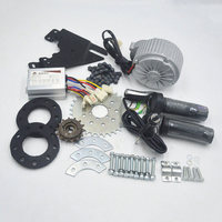 24V 36V 450W Motor Electric Bike Conversion Kit Can Fit Bicycle Use Spoke Sprocket Chain Drive For City bike set