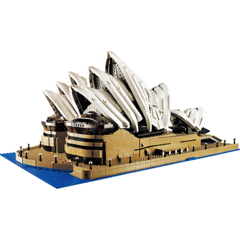 3017Pcs New Large Building Sydney Opera House Model Building Blocks Bricks Compatible legoINGLYS Technic City Toys for Children loz blocos building blocks architecture model rockefeller center toys for children forge world city house buildings bricks 1003