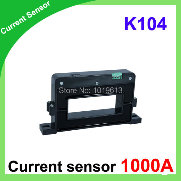 AC/DC Current Sensor 1000a hall effect current sensor open loop K104 type current transducer d8 hall effect high current transducer 1000a dc current transducer