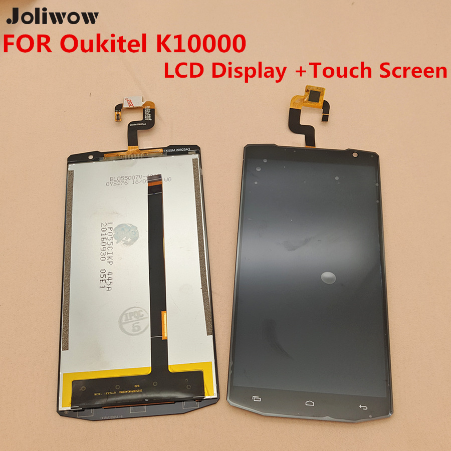 FOR Oukitel K10000 LCD Display +Touch Screen+Tools For OUKITEL K10000 5.5 Inch Quad Core MTK6735P Smartphone