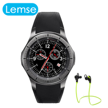 Android 5 1 OS Smart watch LF16 BT 4 0 WIFI MTK6580 quad core Clock Watch