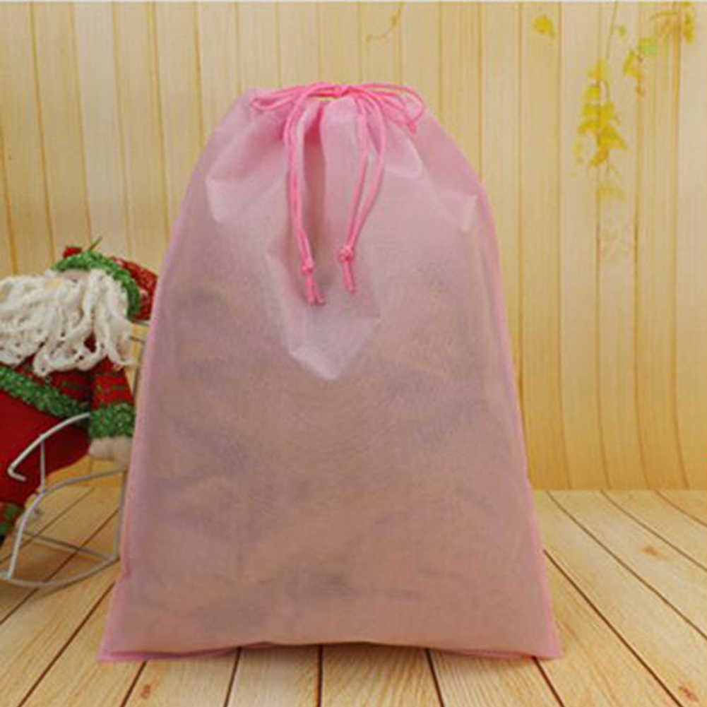 1 piezas de alta calidad nueva bolsa de almacenamiento de polvo no tejida impermeable para zapatos de tela como herramientas de almacenamiento de Casa de viaje