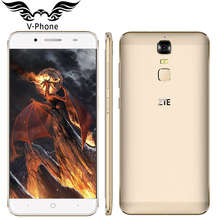 D'origine ZTE Lame A2 Plus 4G LTE 5.5 inchFHD MTK6750T Octa Core 3 GB RAM 32 GB ROM 16MP Android 6.0 D'empreintes Digitales Mobile Téléphone