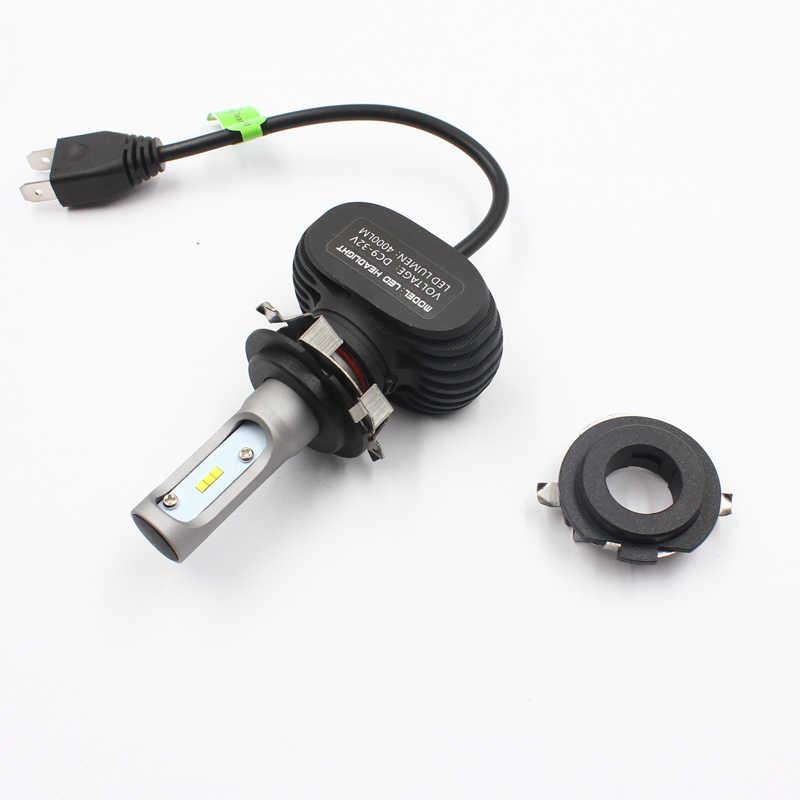 Rockeybright سيارة H7 LED مصباح أضاءه أمامي حامل محول قاعدة مصابيح لمرسيدس بن z E الفئة/ML350 LED H7 لمبة حامل محولات