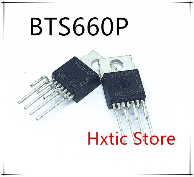 NEW 5PCS LOT BTS660P BTS660 TO 220 7 IC
