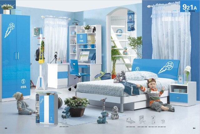 Beautiful Children Bedroom Furniture Sets Children Bed Wardrobe Desk ...