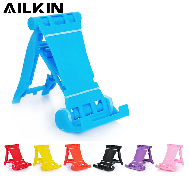 AILKIN Desk Mobile Phone Holder Stand For iPhone X 7 6 Samsung Xiaomi Smartphone Holders Mount For iPad Pro Tablet Stand Holder