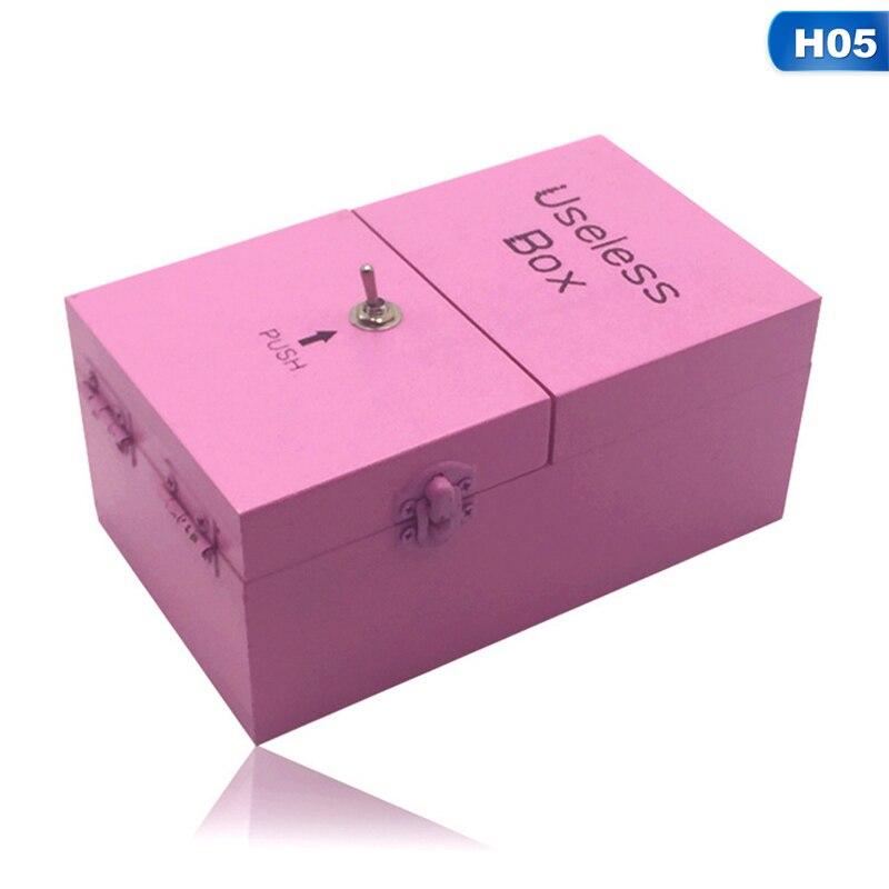 Novo Jogo Ampla/Tricky Brinquedos/Useless Box/Adulto Criativo Engraçado Brinquedos/Presente Criativo/Festa Divertida brinquedos/novel Brinquedos De Madeira Para Crianças
