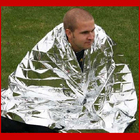 YOUGLE 2 Pcs/Lot Waterproof Emergency Survival First Aid Rescue Blanket 210 x 160 cm