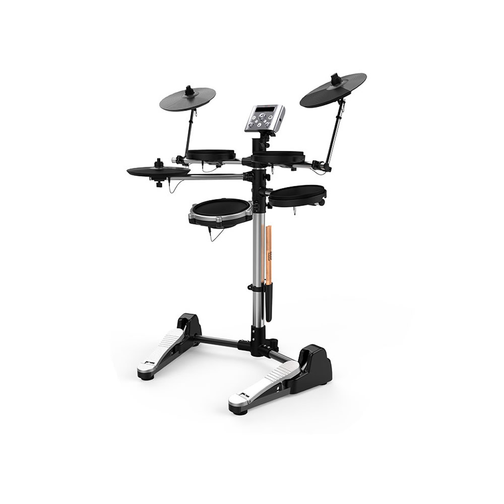 Electronic Drum Set Stand Percussion Music Instruments Build-in Metronome 12 Groups Drum Tones 43 Groups Accompaniment MIDI Jack new usb midi port portable electronic drum set multi tones easy to use