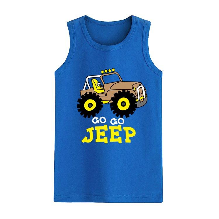 2018 summer childrens clothes boys t-shirts sleeveless cotton o neck boy t-shirt for kids boys cartoon sports vest tops tees