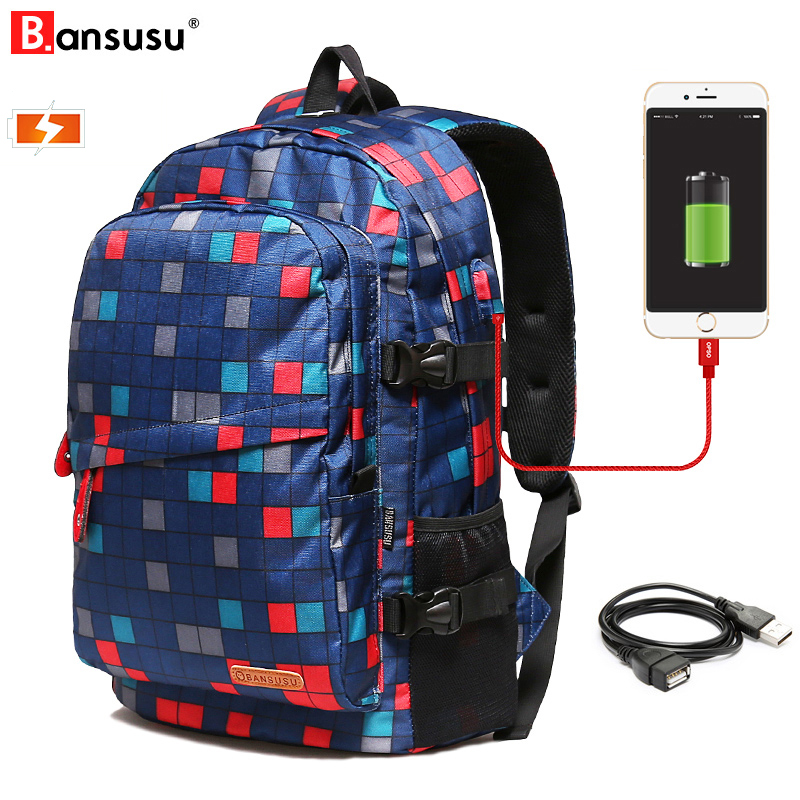 Boys, Bag, Bansusu, Anti-theft, Student, For